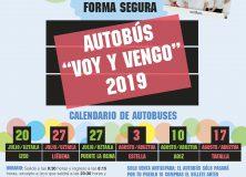 SE PONE EN MARCHA EL SERVICIO DE AUTOBÚS 'VOY Y VENGO' PARA JULIO Y AGOSTO