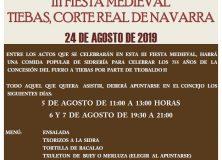 COMIENZAN LOS PREPARATIVOS DE LA III FIESTA MEDIEVAL DE TIEBAS