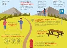MEDIO AMBIENTE DIVULGA RECOMENDACIONES PARA ACTIVIDADES EN EL MEDIO NATURAL ANTE EL COVID19