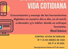 TALLER DE APLICACIONES DIGITALES PARA LA VIDA COTIDIANA DIRIGIDO A MUJERES