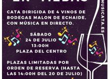 SESIÓN DE MÚSICA Y VINOS EN TIEBAS EL SÁBADO 24 DE JULIO
