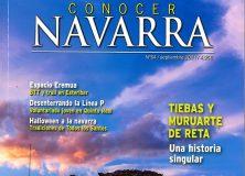 LA REVISTA 'CONOCER NAVARRA' TIENE COMO PROTAGONISTAS A TIEBAS, MURUARTE DE RETA Y CAMPANAS
