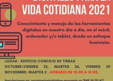 LA MANCOMUNIDAD ORGANIZA UN TALLER PARA MUJERES DE APLICACIONES DIGITALES PARA LA VIDA COTIDIANA 2021