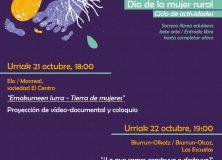 LA MANCOMUNIDAD DE SERVICIOS SOCIALES PROGRAMA DIVERSAS ACTIVIDADES CON MOTIVO DEL DÍA DE LA MUJER RURAL